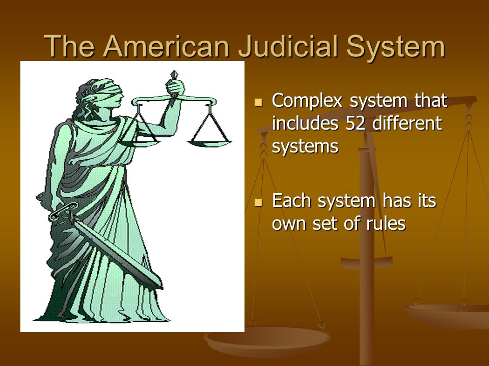 The American Judicial System