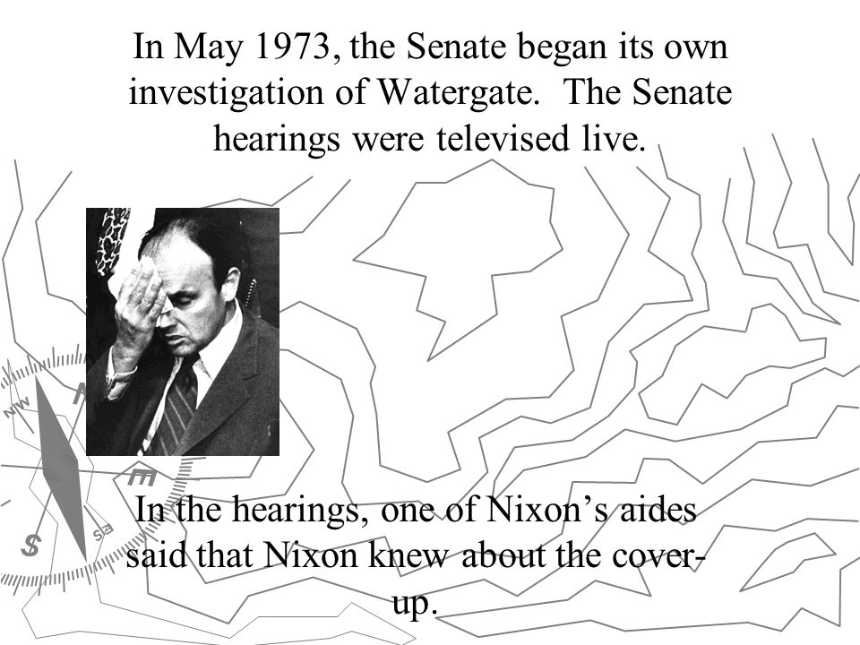 In May 1973, the Senate began its own investigation of Watergate