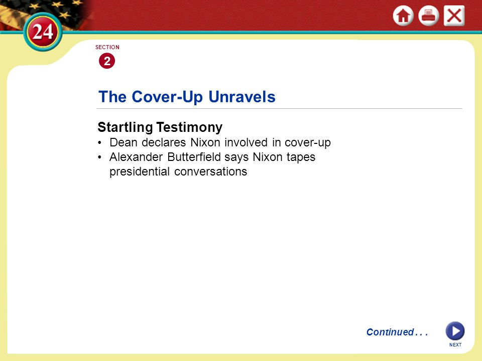 The Cover-Up Unravels Startling Testimony 2