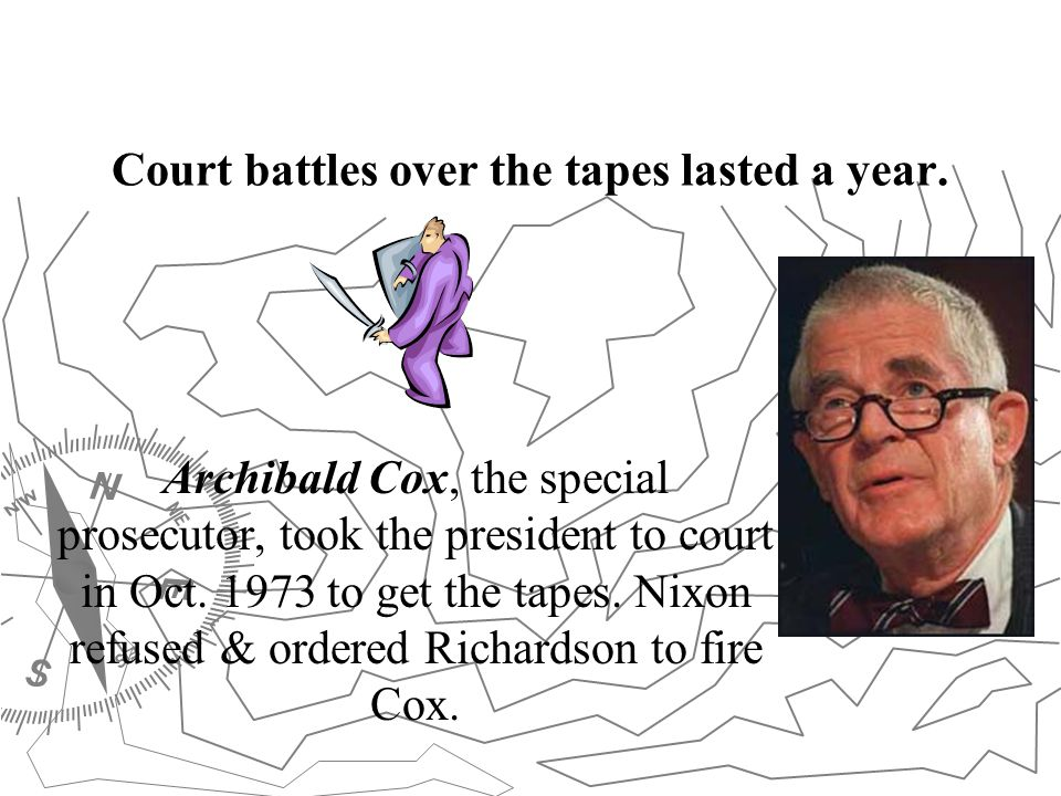 Court battles over the tapes lasted a year.