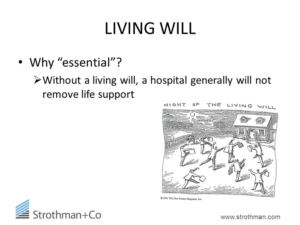 LIVING WILL Why essential
