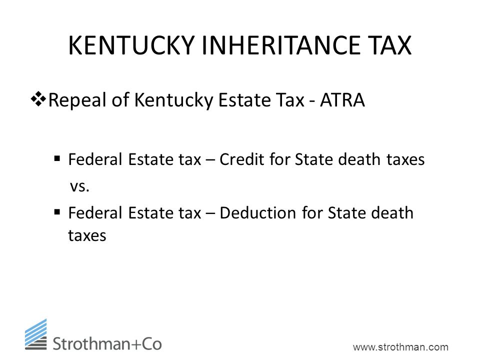 KENTUCKY INHERITANCE TAX