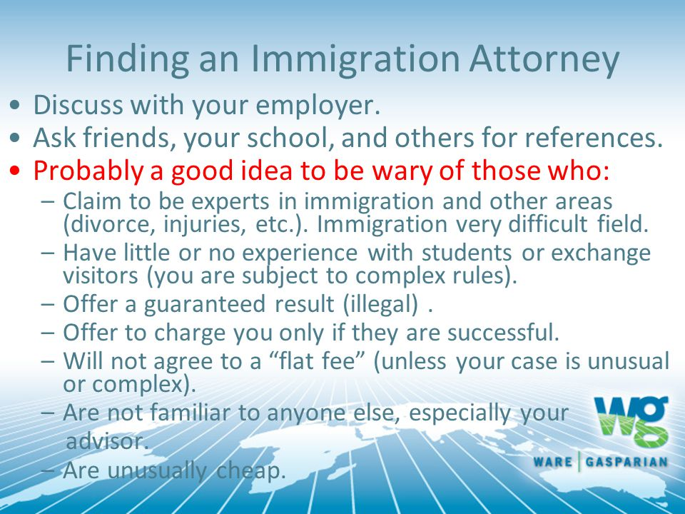 Finding an Immigration Attorney