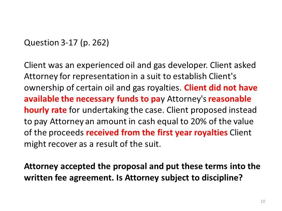 Question 3-17 (p. 262)