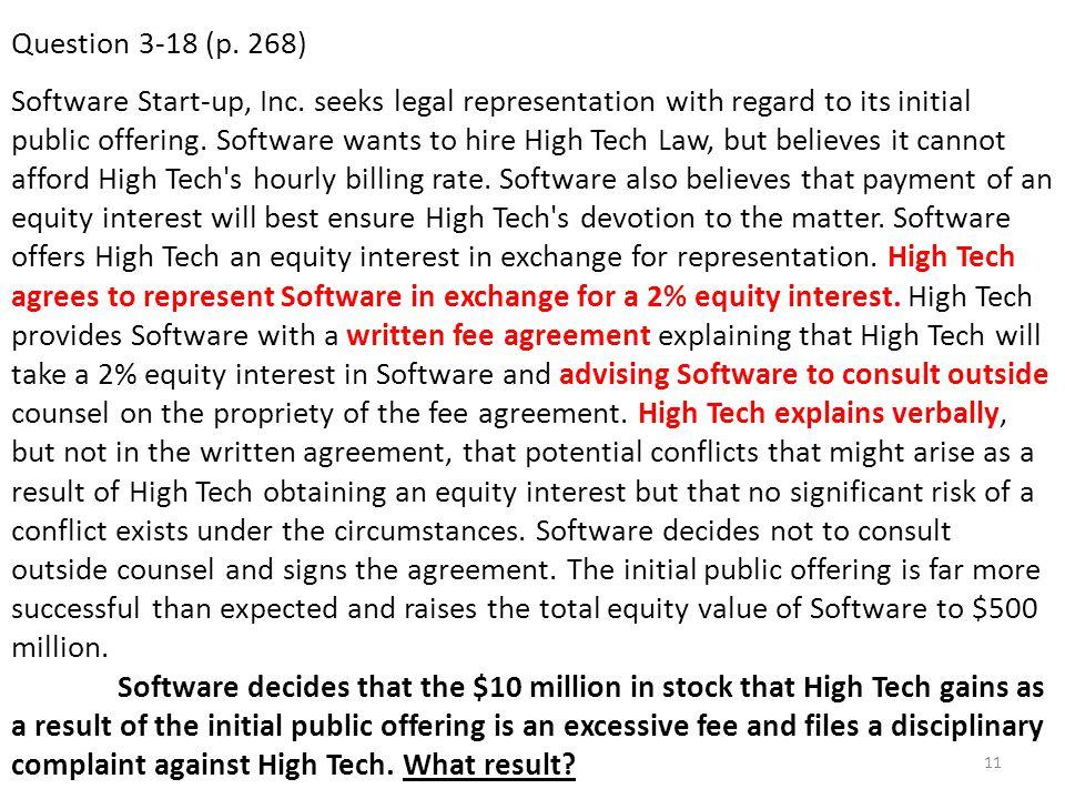 Question 3-18 (p. 268)