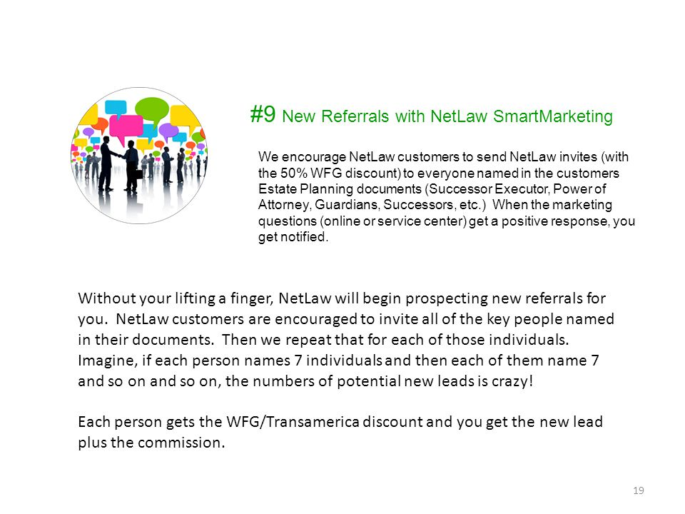 #9 New Referrals with NetLaw SmartMarketing