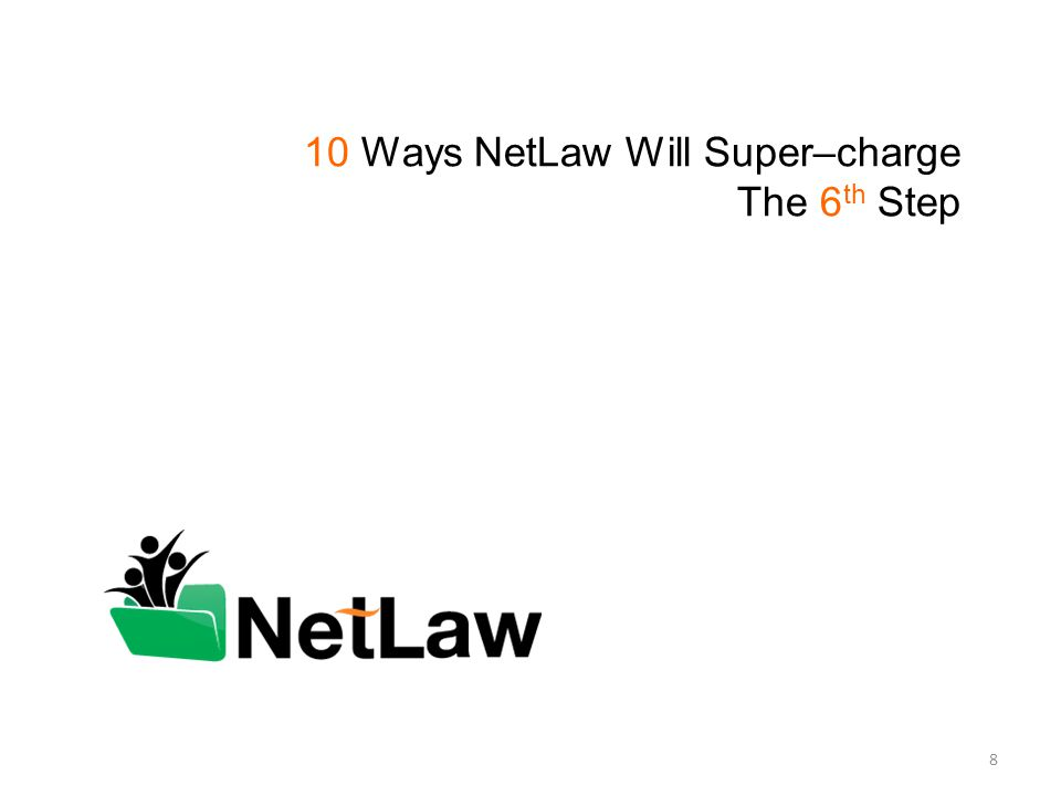 10 Ways NetLaw Will Super–charge