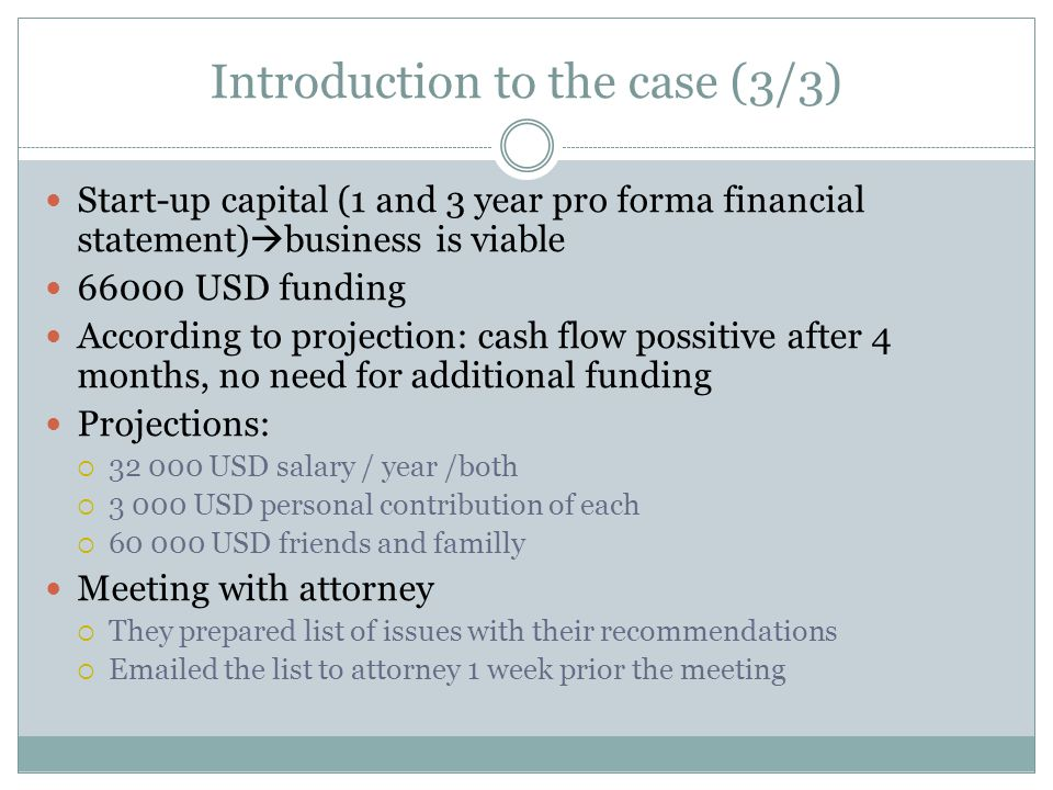 Introduction to the case (3/3)