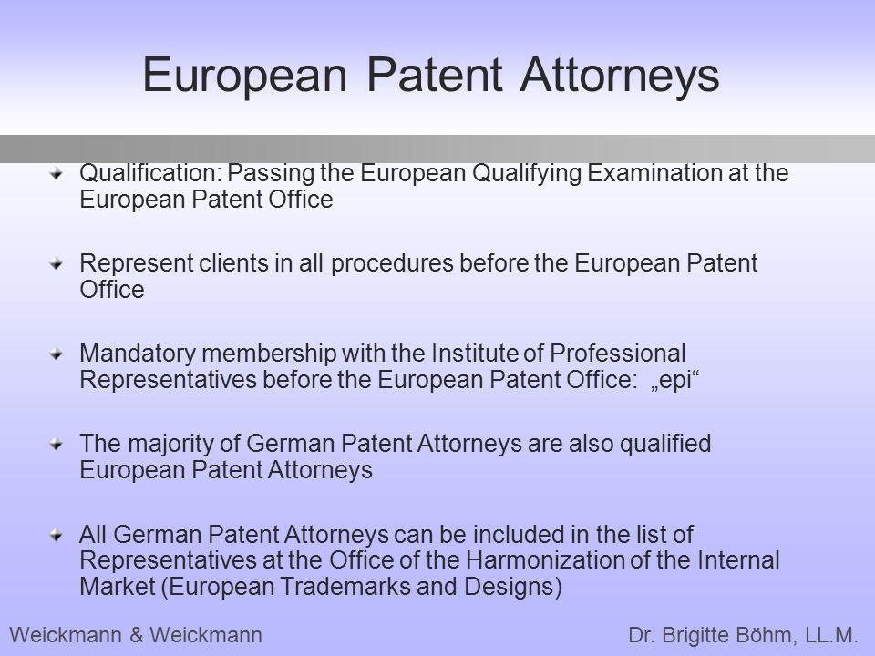 European Patent Attorneys