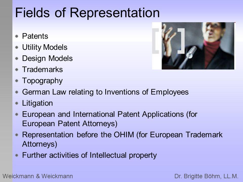Fields of Representation