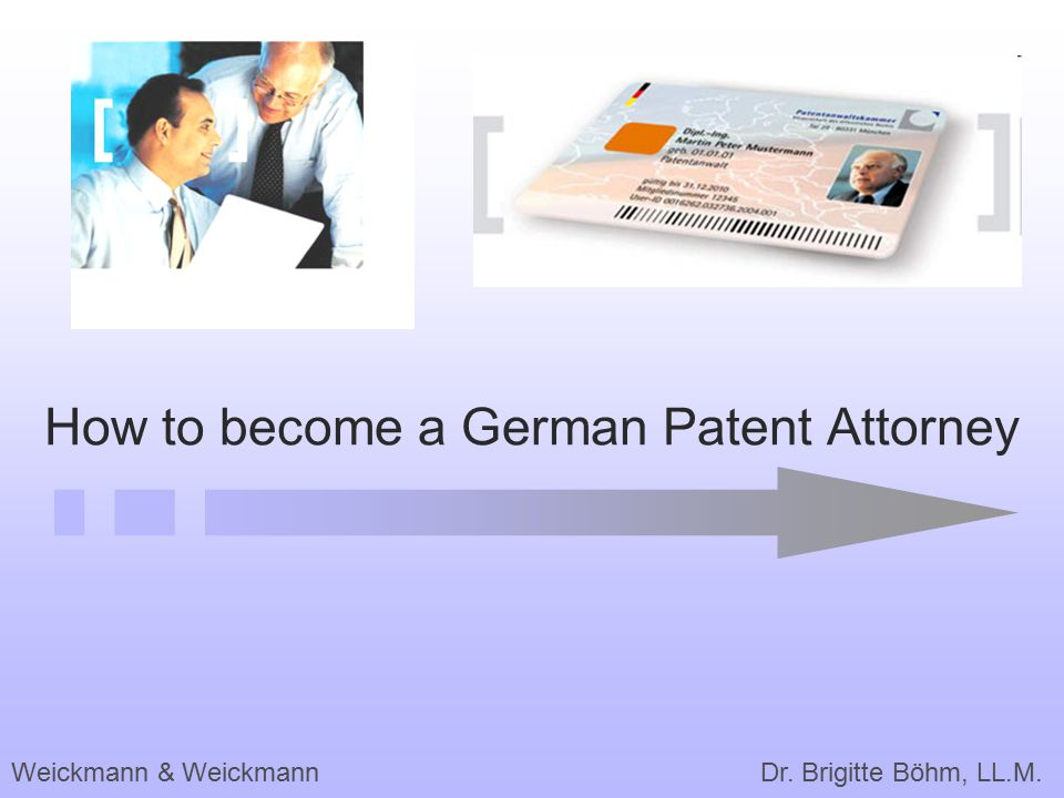 How to become a German Patent Attorney