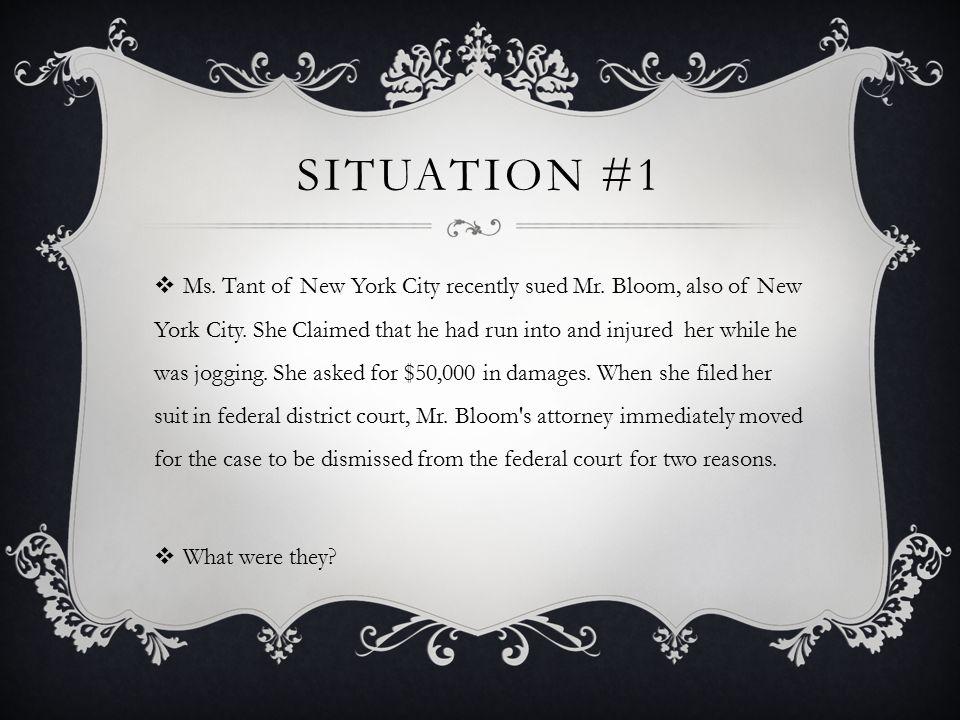 Situation #1