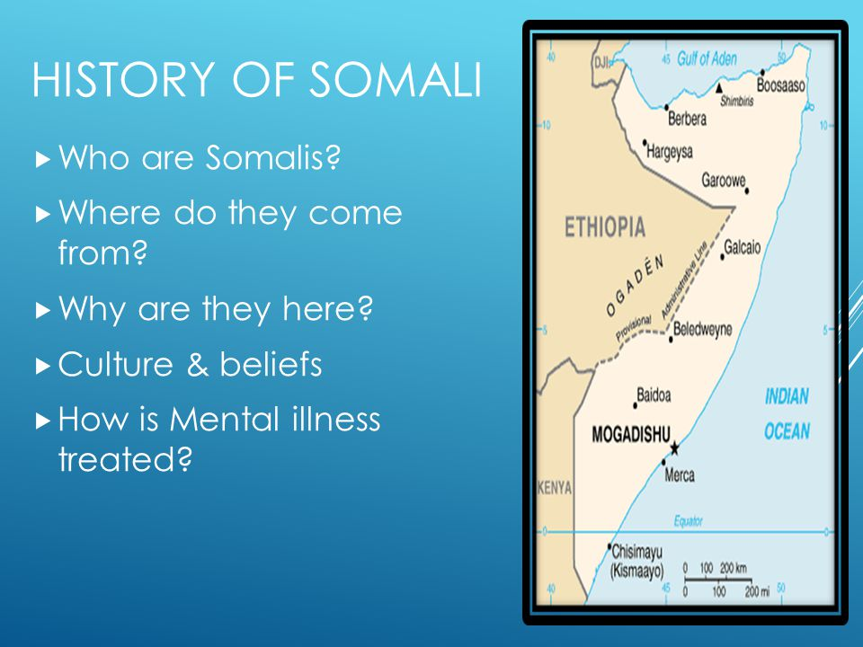 History of Somali Who are Somalis Where do they come from