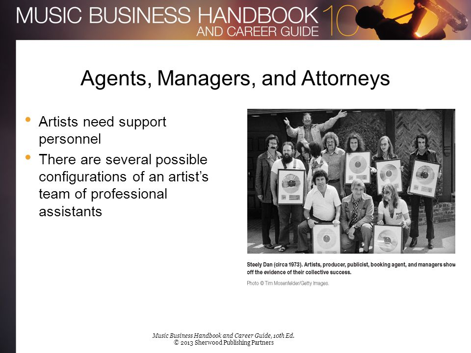Agents, Managers, and Attorneys