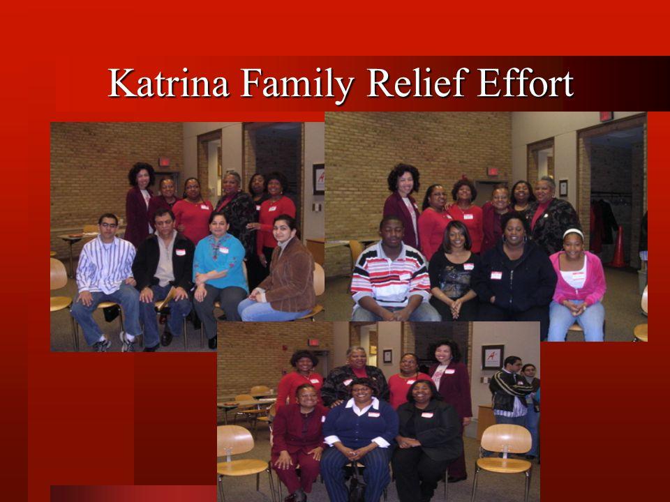 Katrina Family Relief Effort