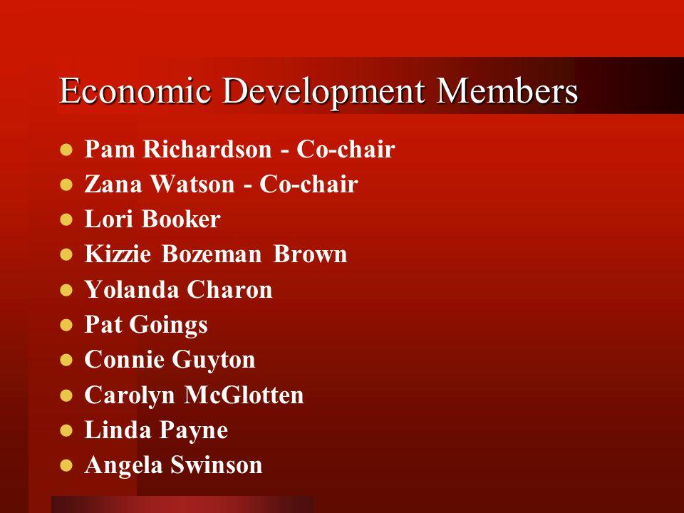 Economic Development Members