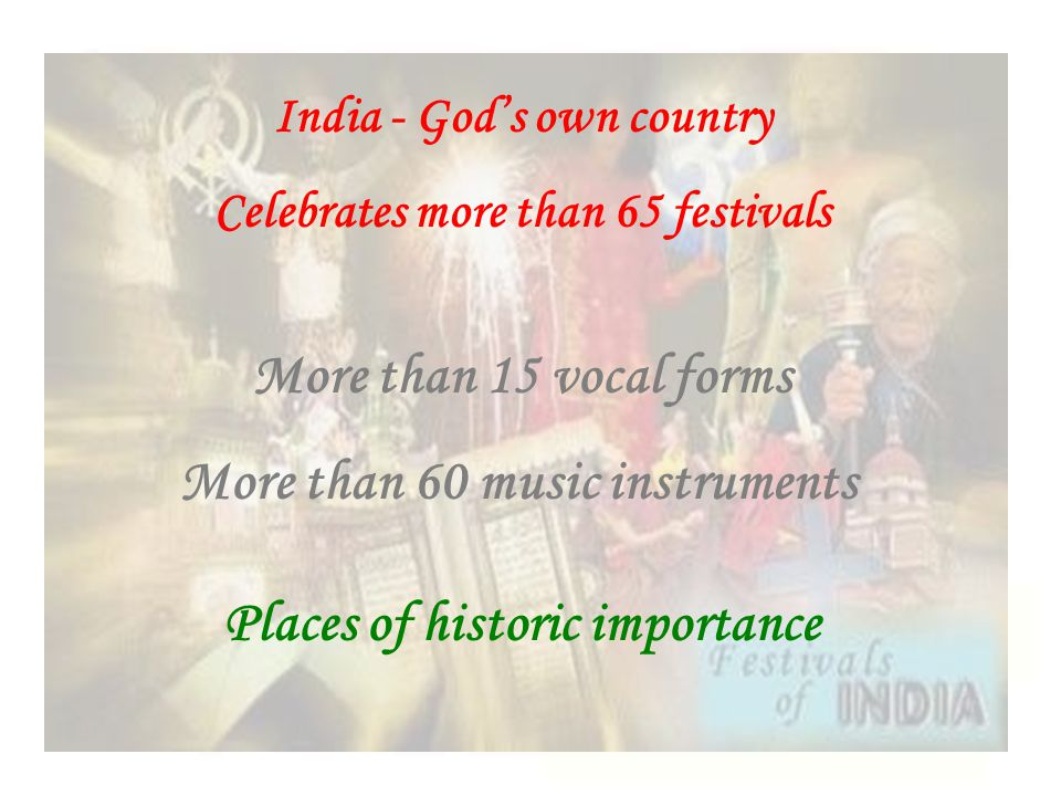 More than 60 music instruments