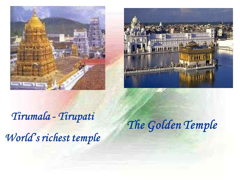 World's richest temple