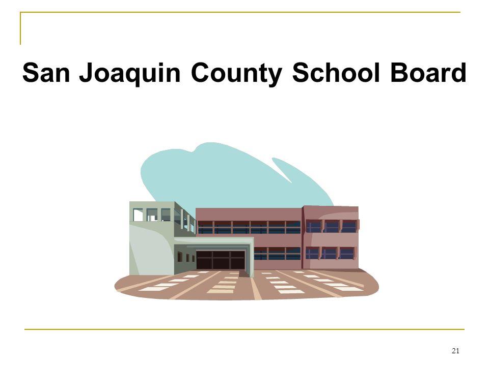 San Joaquin County School Board