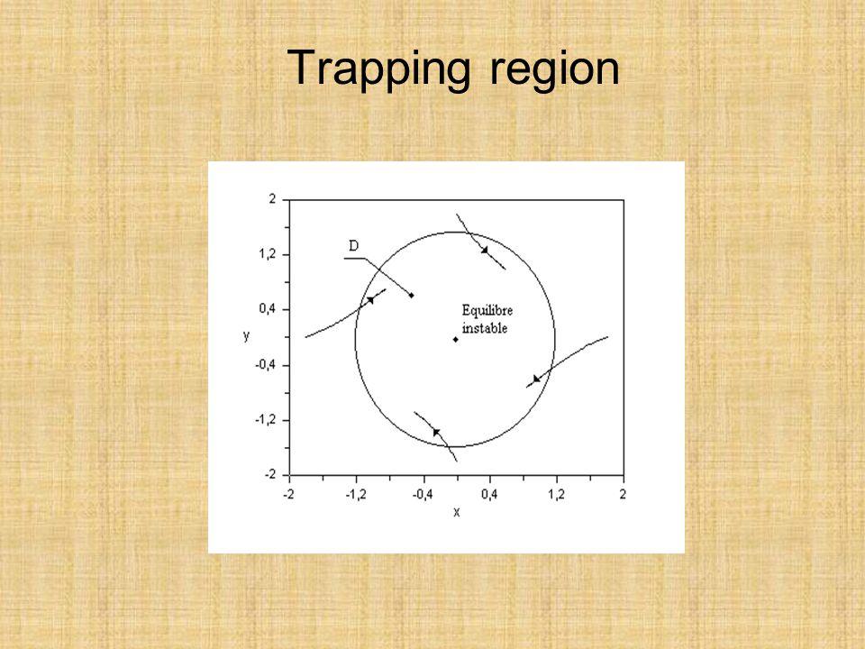 Trapping region