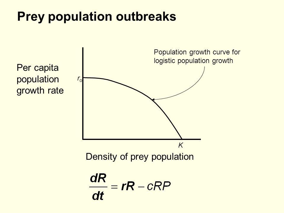 Prey population outbreaks