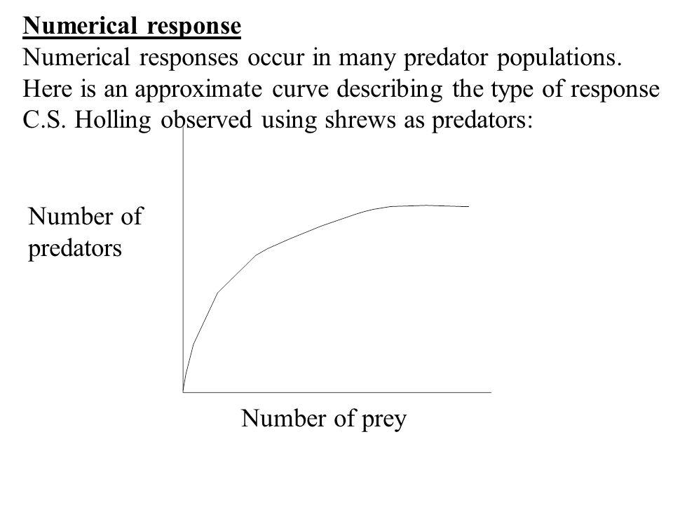 Numerical response