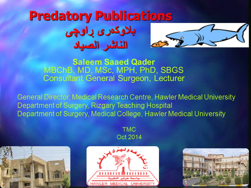 Predatory Publications