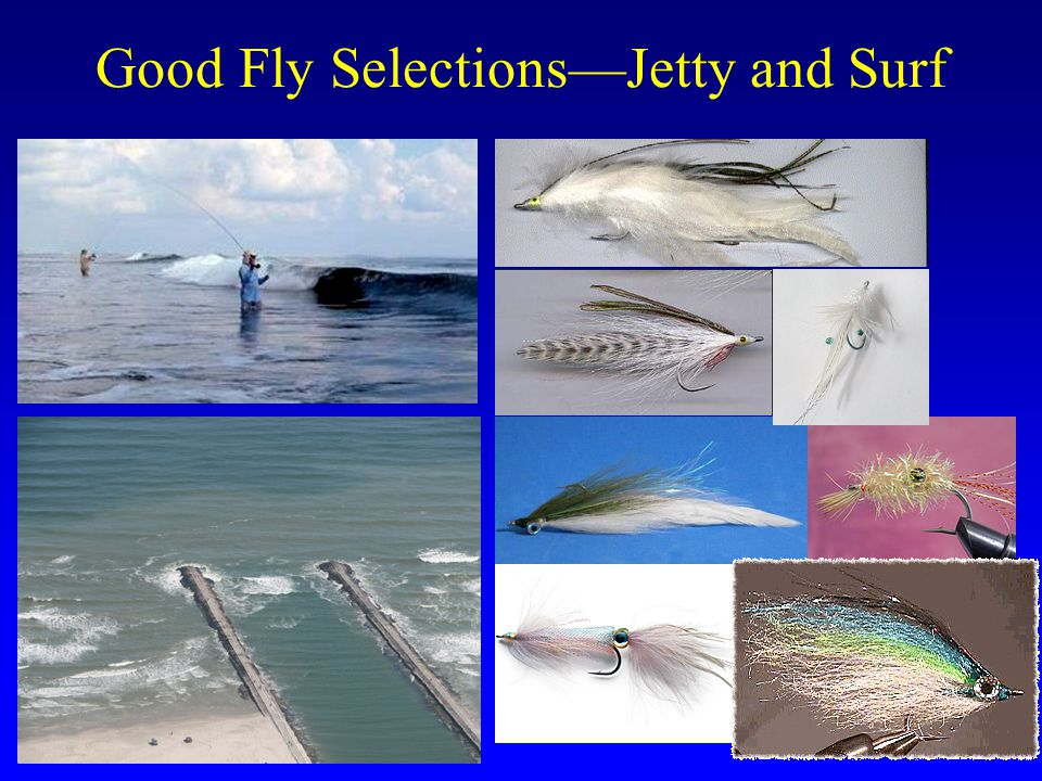 Good Fly Selections—Jetty and Surf