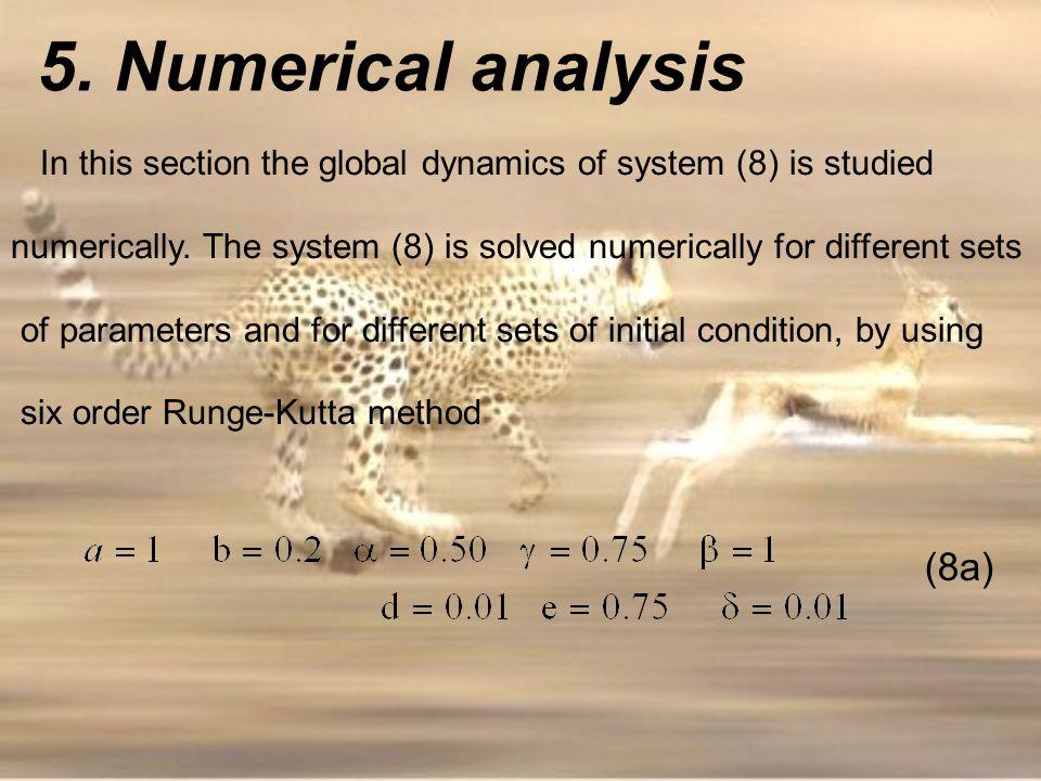 5. Numerical analysis (8a)