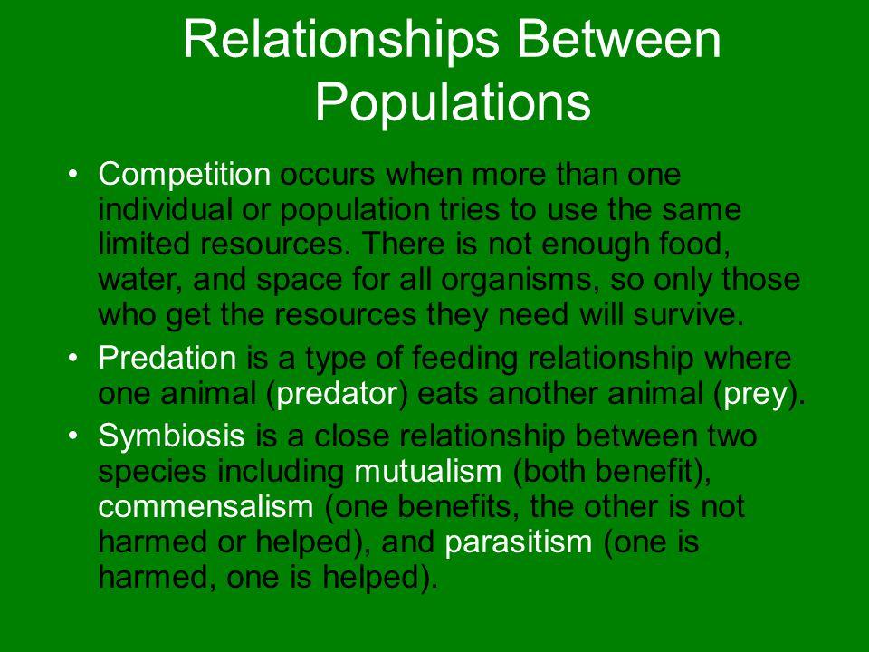 Relationships Between Populations