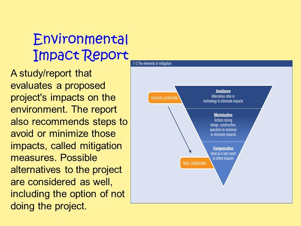 Environmental Impact Report