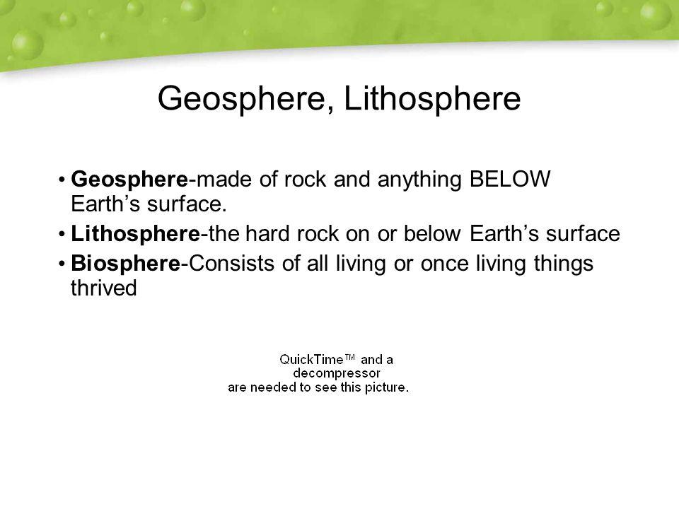 Geosphere, Lithosphere