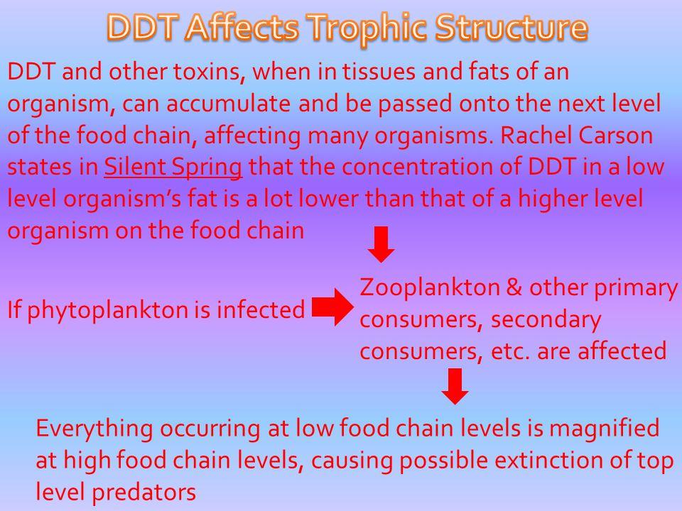 DDT Affects Trophic Structure