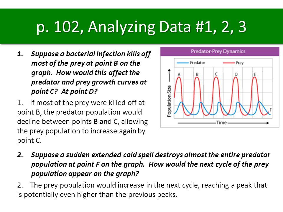 p. 102, Analyzing Data #1, 2, 3