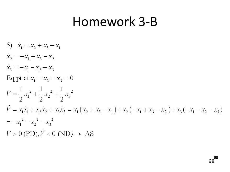 Homework 3-B