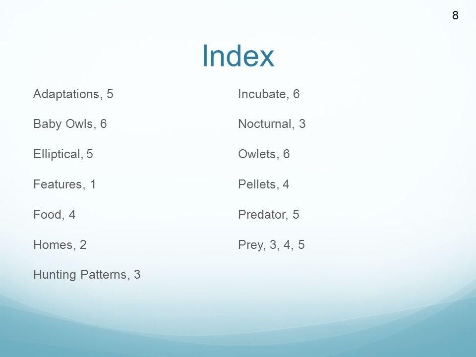 Index 8.