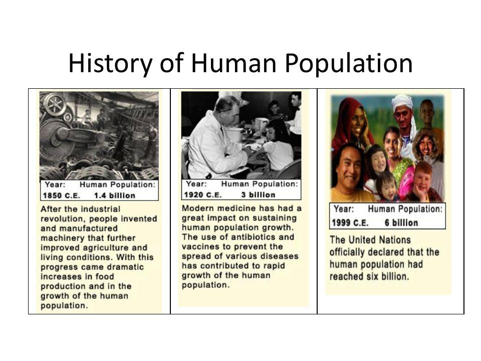 History of Human Population