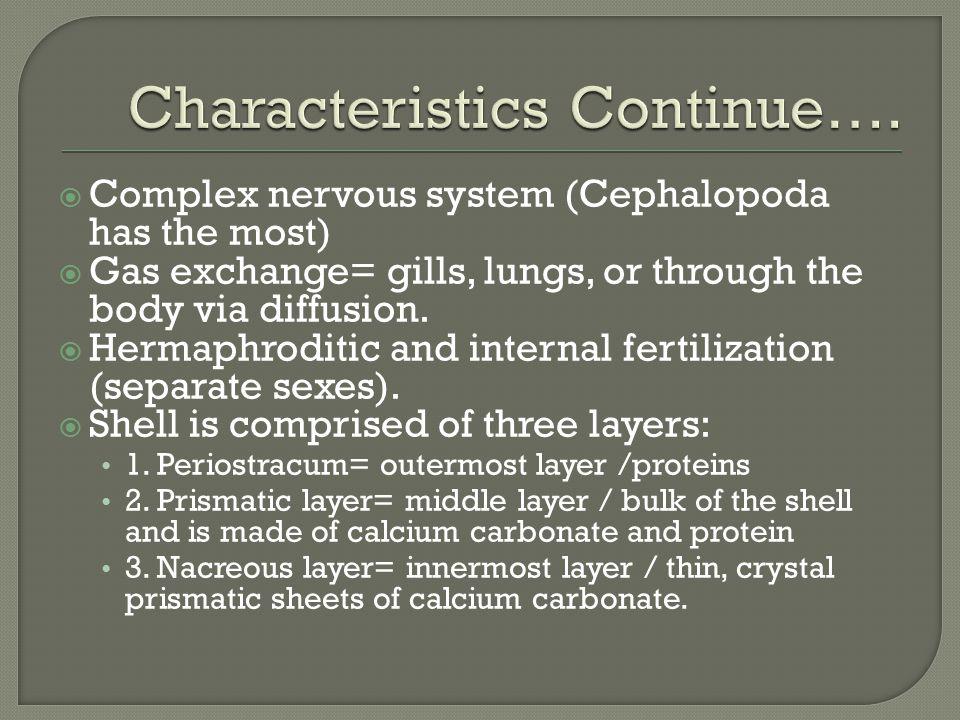 Characteristics Continue….
