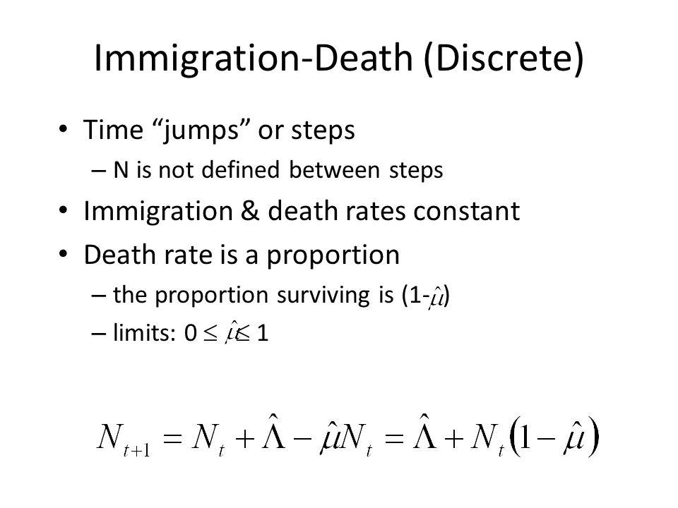 Immigration-Death (Discrete)