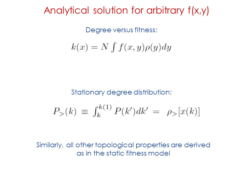 Analytical solution for arbitrary f(x,y)