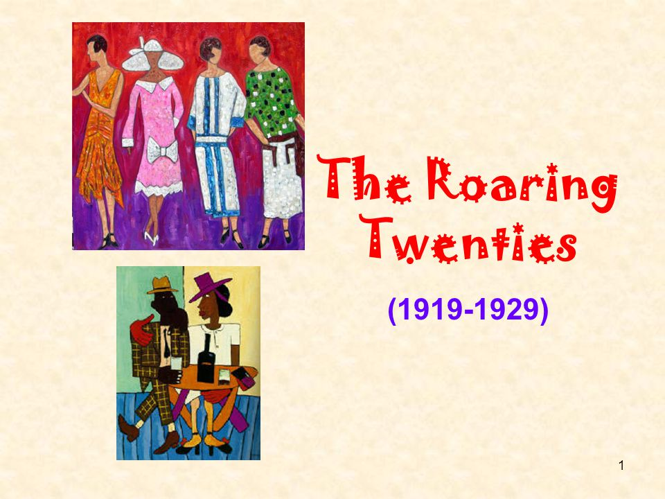 The Roaring Twenties (1919-1929)