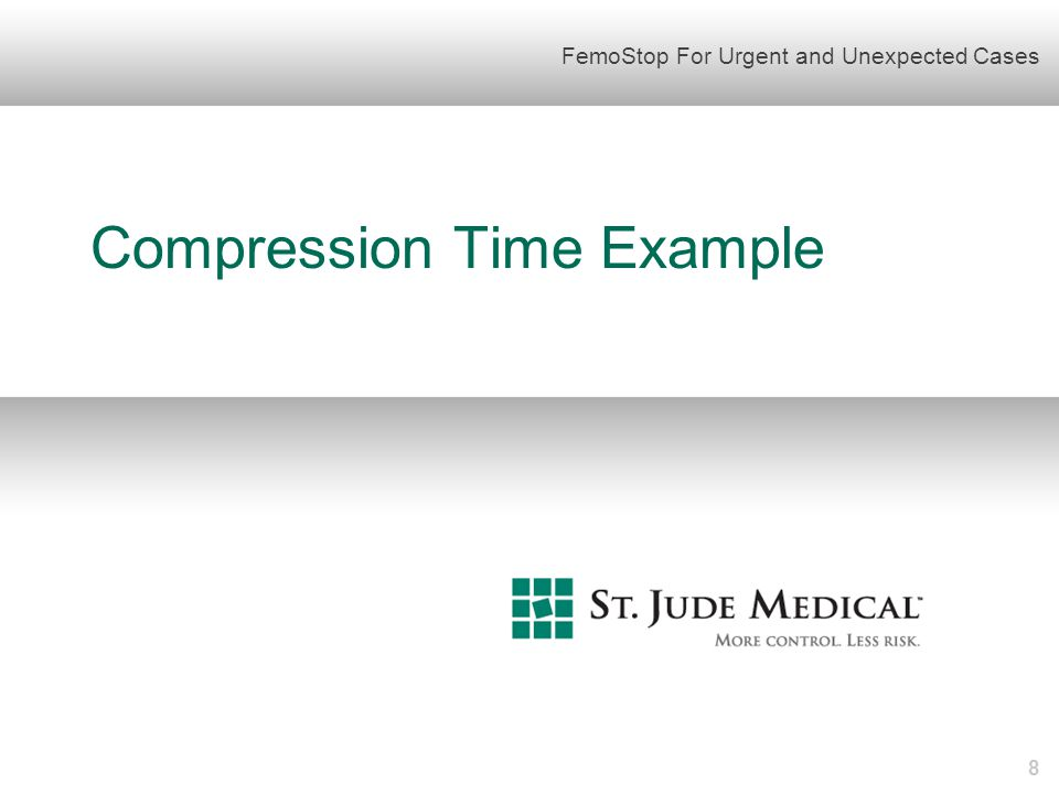 Compression Time Example