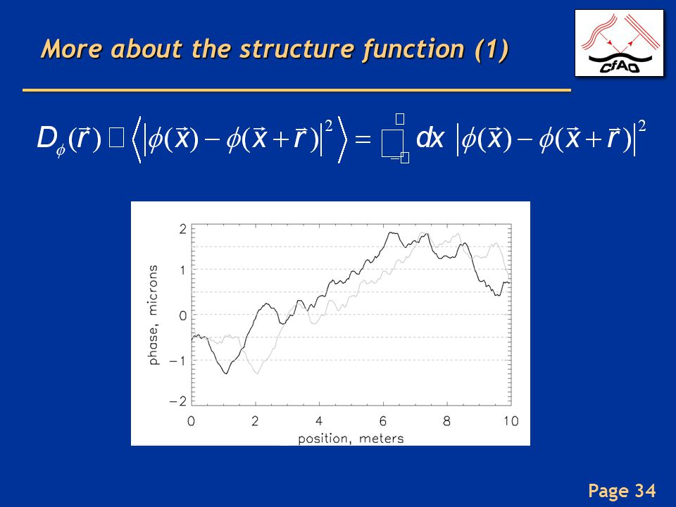 More about the structure function (1)
