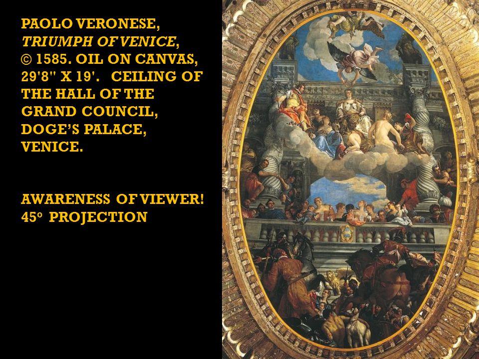 PAOLO VERONESE, Triumph of Venice,