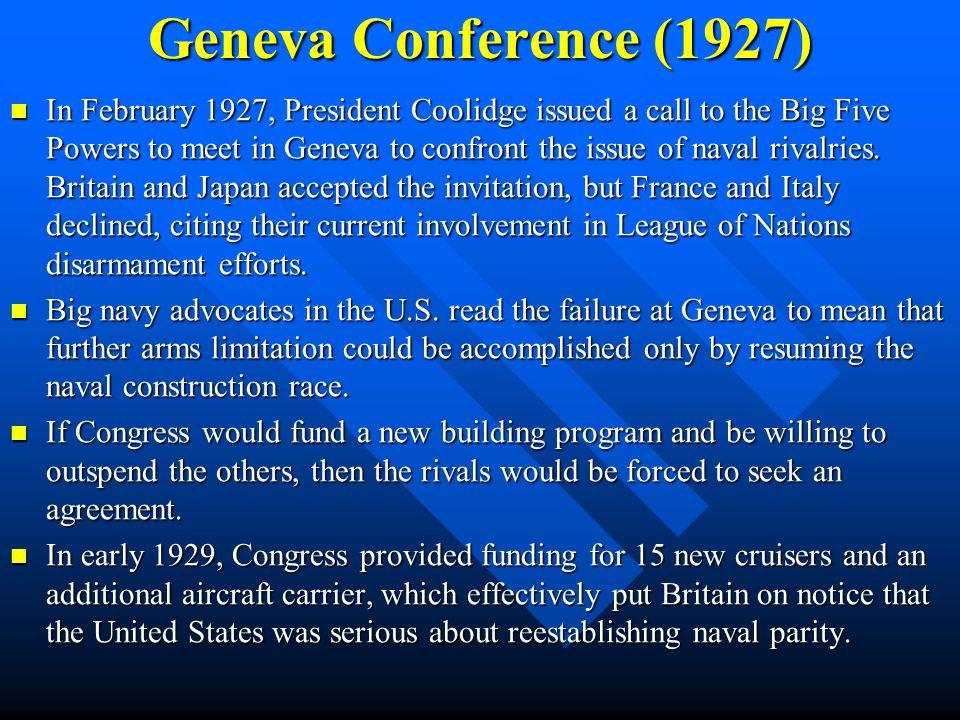 Geneva Conference (1927)