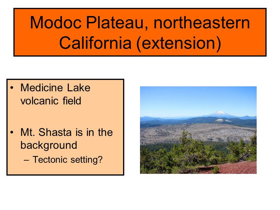 Modoc Plateau, northeastern California (extension)