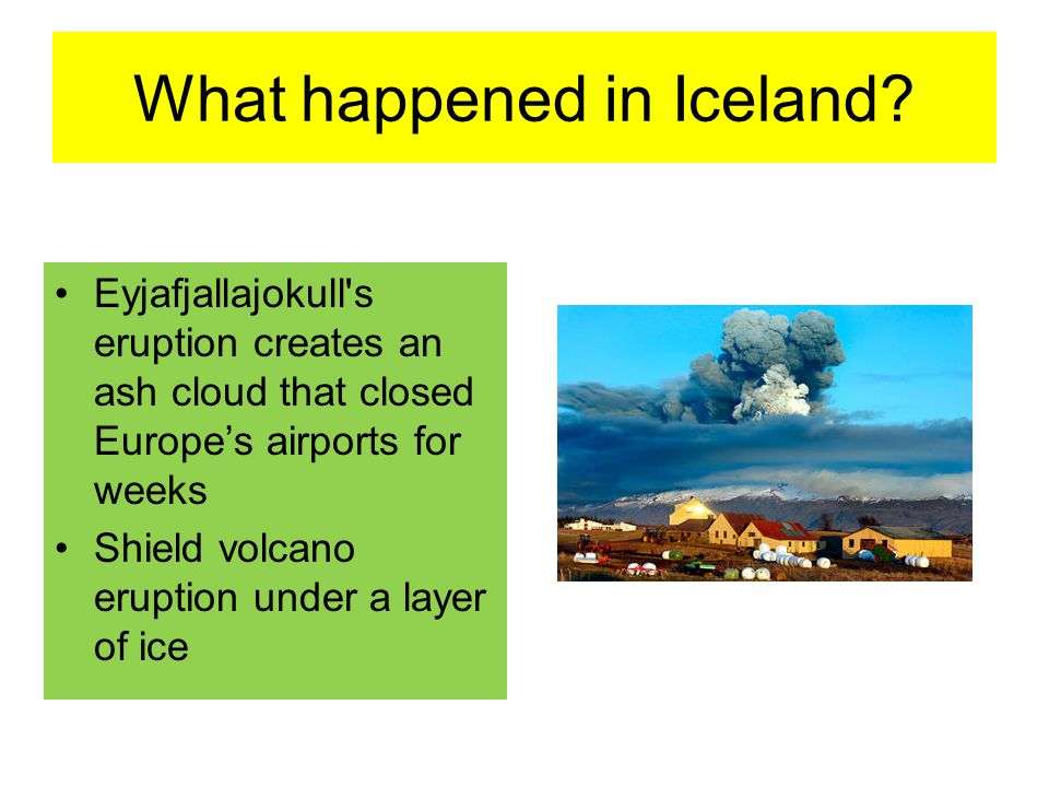 What happened in Iceland