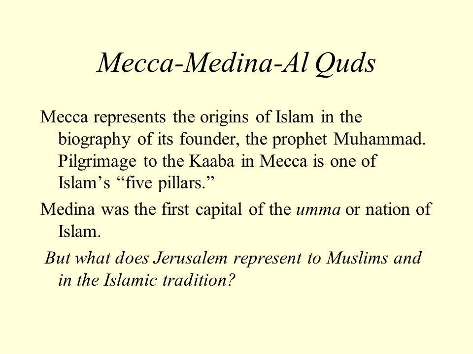 Mecca-Medina-Al Quds