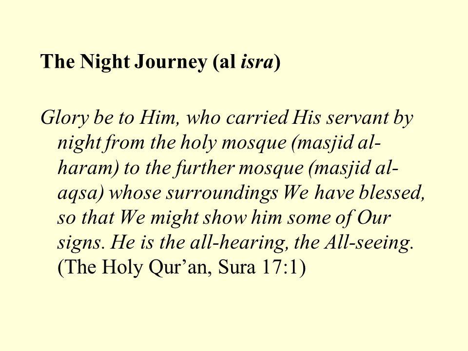 The Night Journey (al isra)
