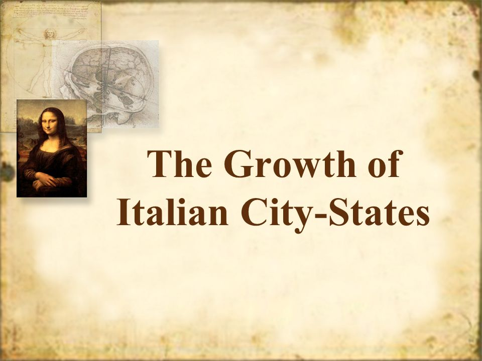 The Growth of Italian City-States